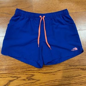 North Face Blue Shorts Size S